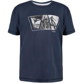 Regatta Alvarado V T-Shirt Enfant, bleu